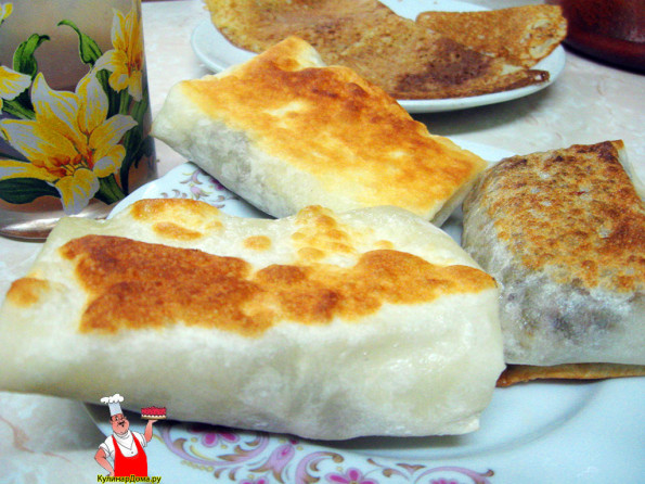 Простые блюда из лаваша рецепты фото