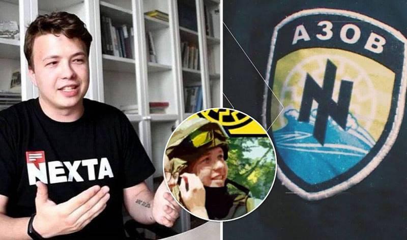 Во всех европейских аэропортах предложили развесить портреты Протасевича, воевавшего в рядах «Азова» Новости
