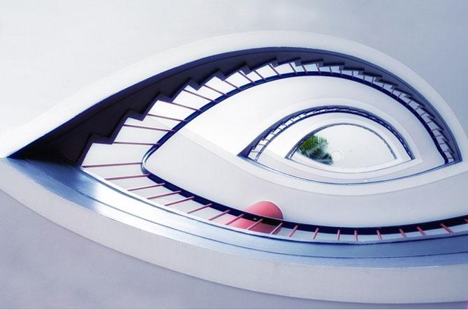 Невероятные фотографии лестниц