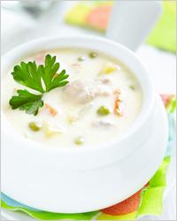 Сырный суп с курицей - Что приготовить из куриного филе