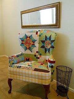 Переделка старого кресла – фото до и после