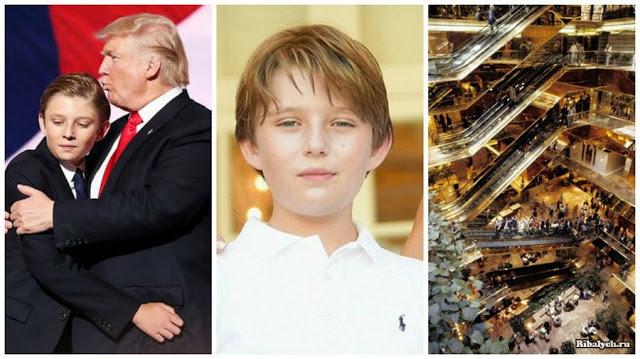 Как живется сыну Дональда Трампа
