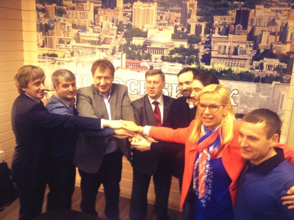 Новосибирск взят!
