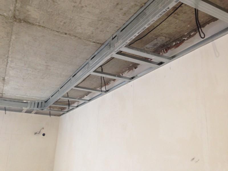 потолок своими руками пошаговая инструкция с фото