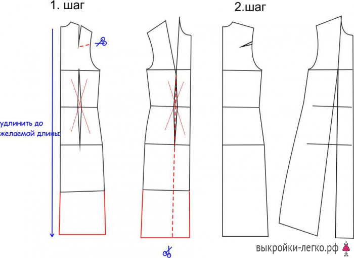 Шьем в стиле Бохо. Моделируем выкройки платьев и брюк бохо