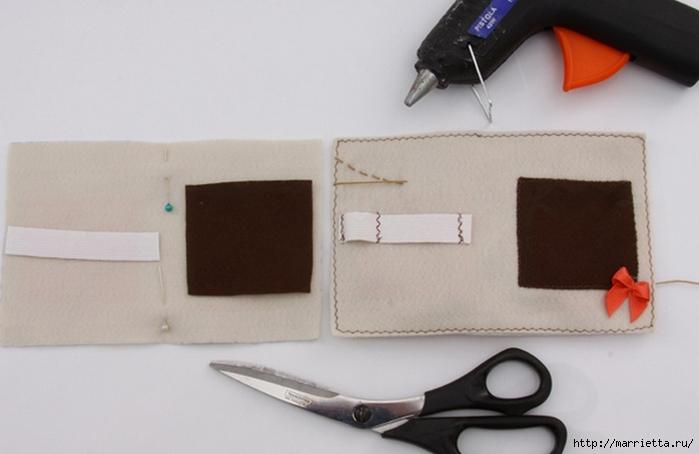 Дорожный несессер для швейных принадлежностей несессер