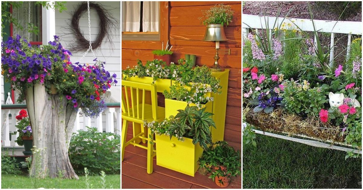 Эти цветочные композиции гораздо большее, чем просто клумбы, они великолепны!