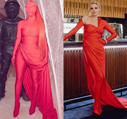 Модная битва: Ким Кардашьян против Ренаты Литвиновой