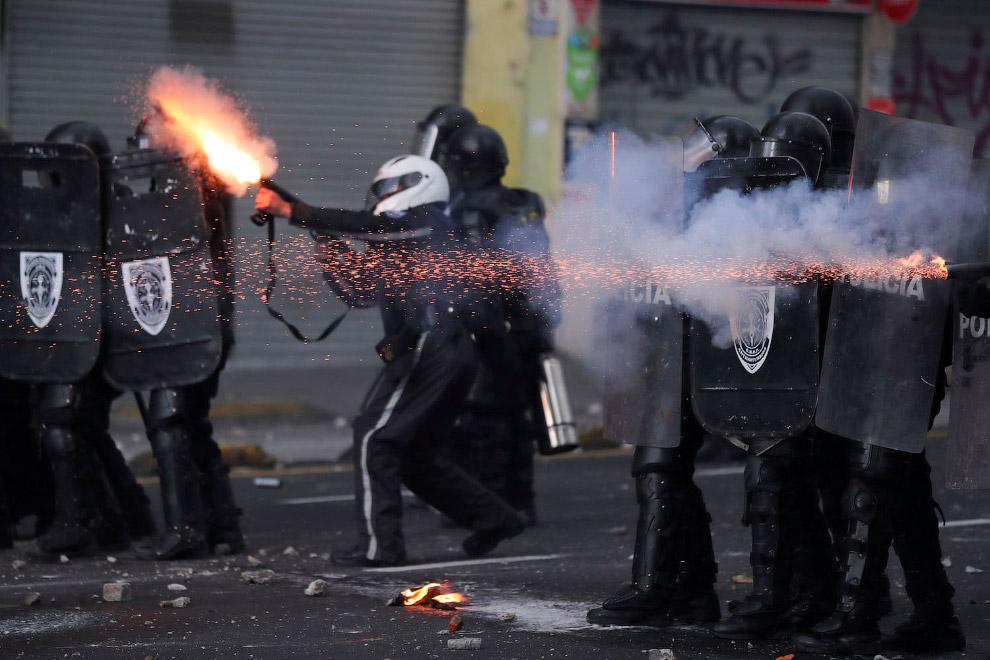 Протесты в Эквадоре
