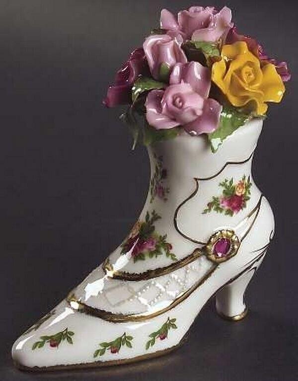 Изумительный фарфор Royal Albert handmake,разное,стекло и керамика,украшения