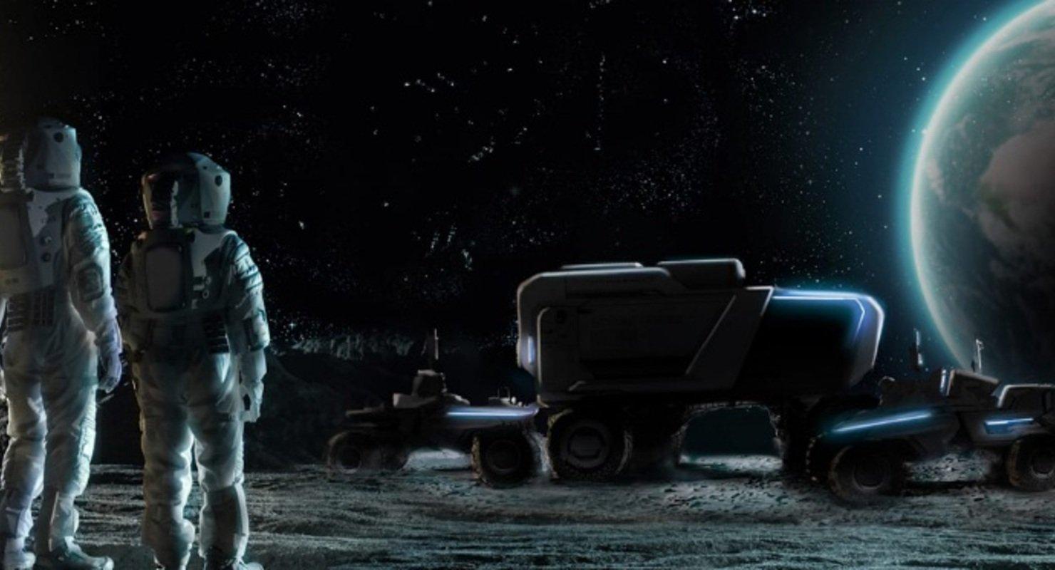 General Motors поможет в разработке луноходов нового поколения для NASA Автомобили