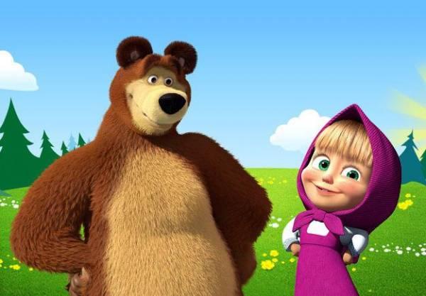 Мультфильм «Маша и Медведь» …