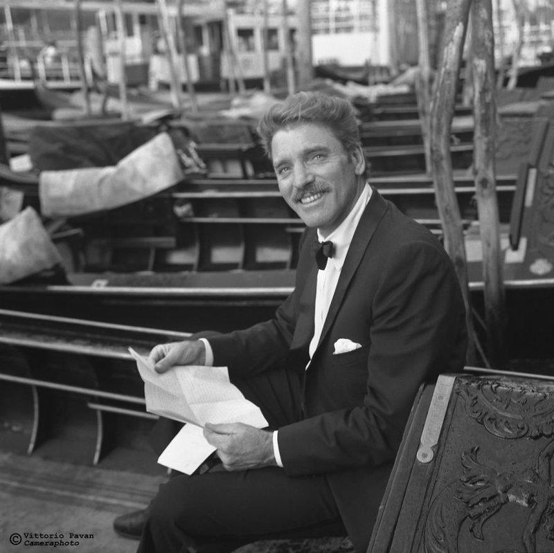 Берт Ланкастер архив, венеция, негативы, фотографии