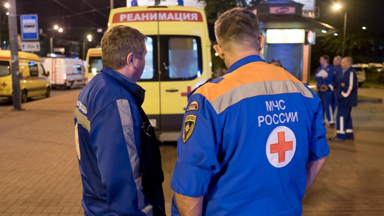 Пять человек пострадали при опрокидывании автобуса на трассе «Енисей» под Красноярском Происшествия