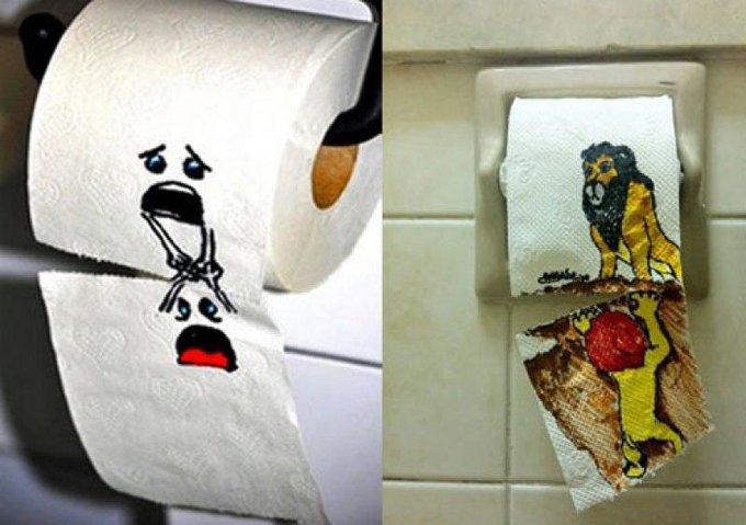 15 забавных актов вандализма, обнаруженных в общественных туалетах изображение 1