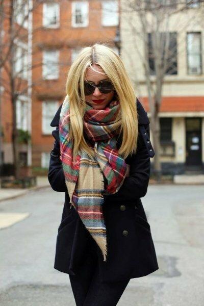 33 сочных способа носить палантин, чтобы выглядеть стильно этой весной
