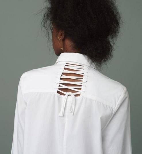 Блузки в деталях (подборка)