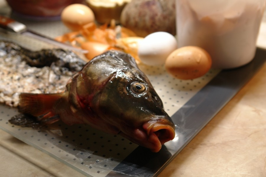 Фаршированная рыба: рецепт для поста