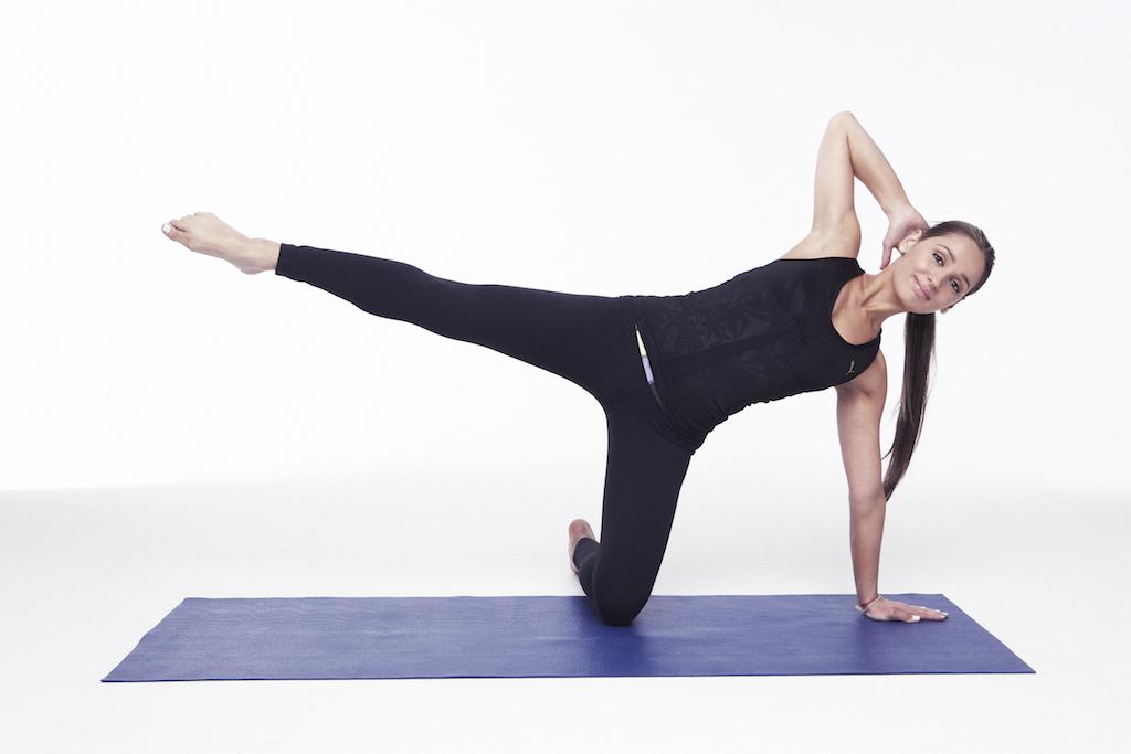 Простая гимнастика в стиле пилатес