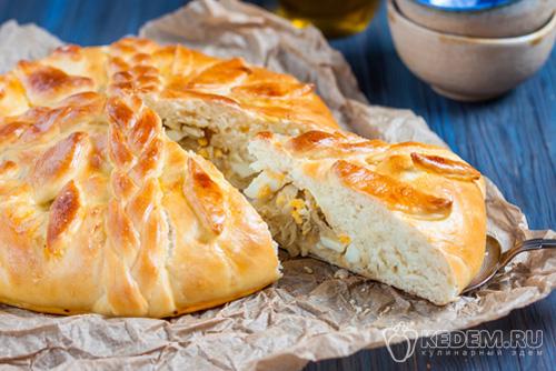 Пироги с капустой в духовке