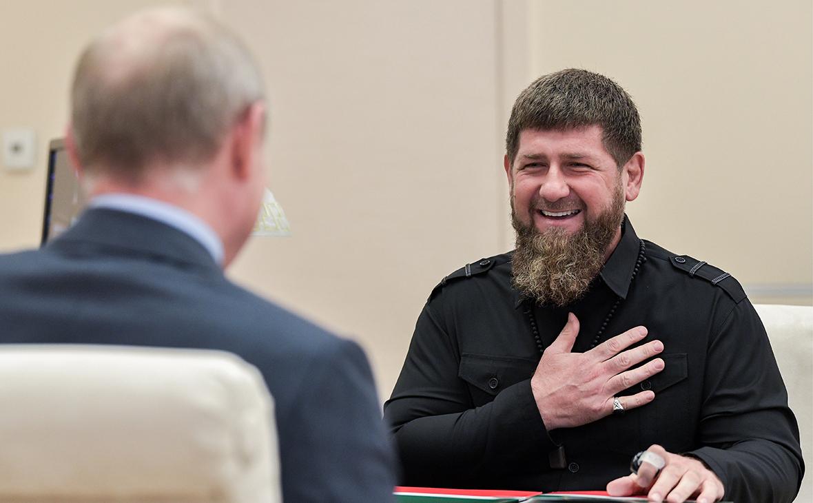 Разговоры о преемнике нашего президента считаю неуместными власть,кадыров,общество,политика,Путин,россияне