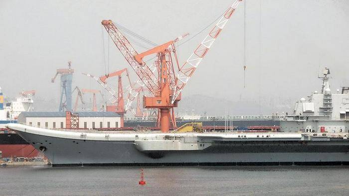 СМИ: Китай приступил к строительству третьего авианосца