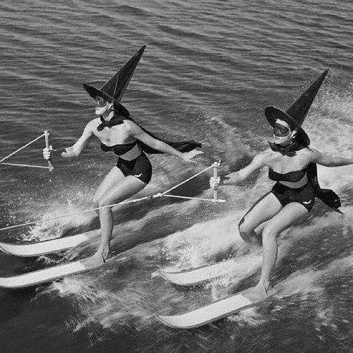 Хэллоуин во Флориде, 1954 год. история, классика, фото