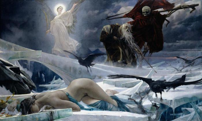 Грёзы символистов, или смертельные сны о вечном: классические полотна, вызывающие двоякие чувства