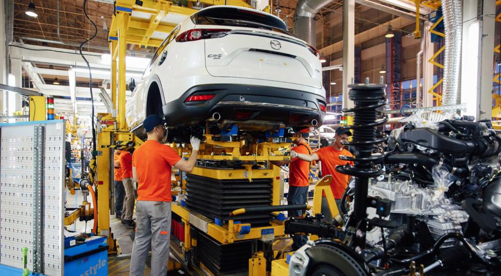 В феврале в России вырос объём производства машин