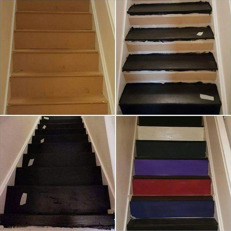 Эта женщина превратила домашнюю лестницу в 'книжную полку', создав настоящий лестничный шедевр