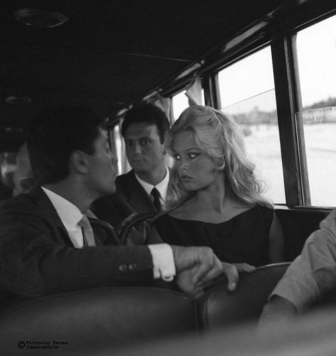 Редкие фотографии знаменитостей из Венеции 50-60-х годов