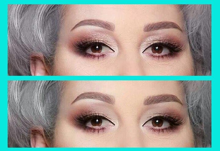 2 попытки женщин скрыть свой возраст макияжем, которые не работают