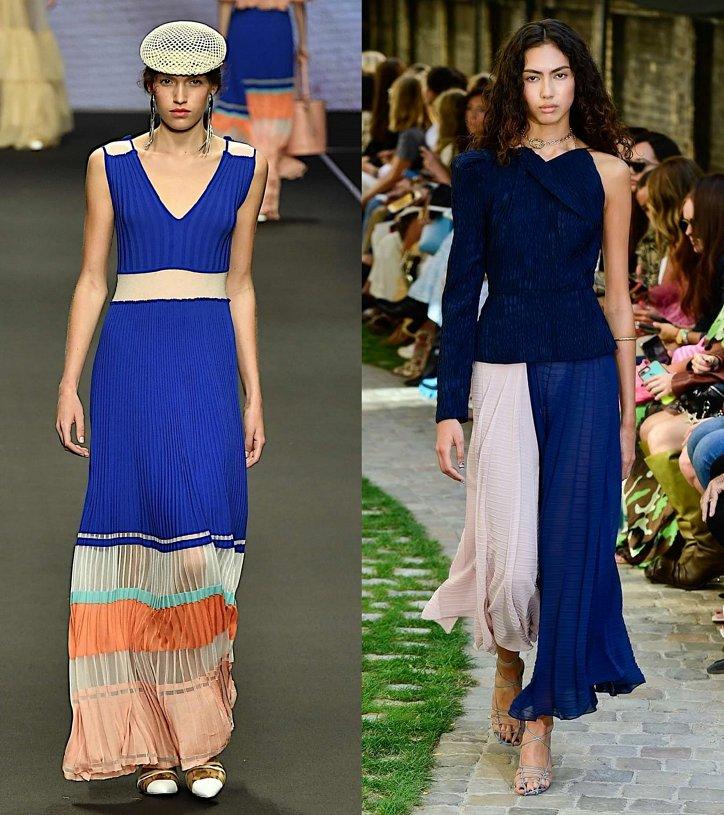 Как носить синий - самый модный цвет 2020 года фото №9
