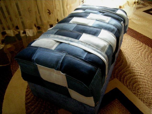Полезная утилизация старых джинсов