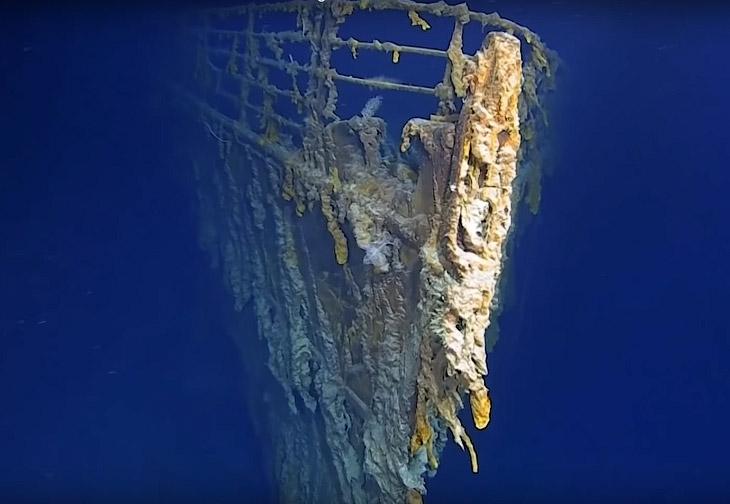 Что осталось от «Титаника» 107 лет спустя