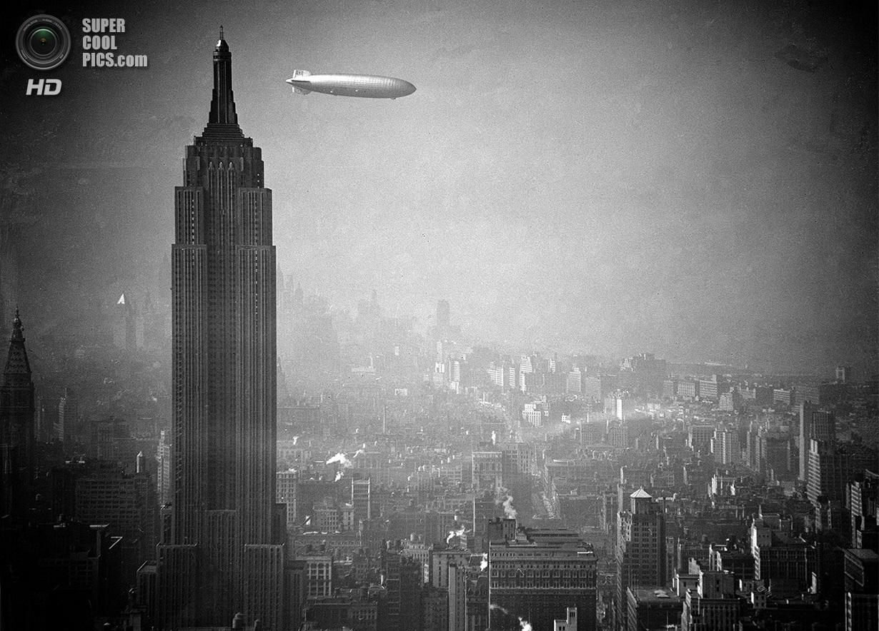 Воздушные корабли прошлого и настоящего