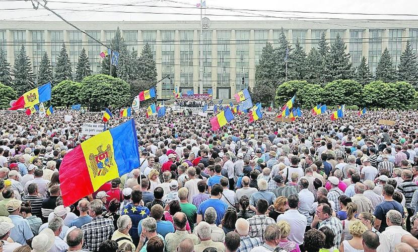 Евромайдан в Молдове: репети…