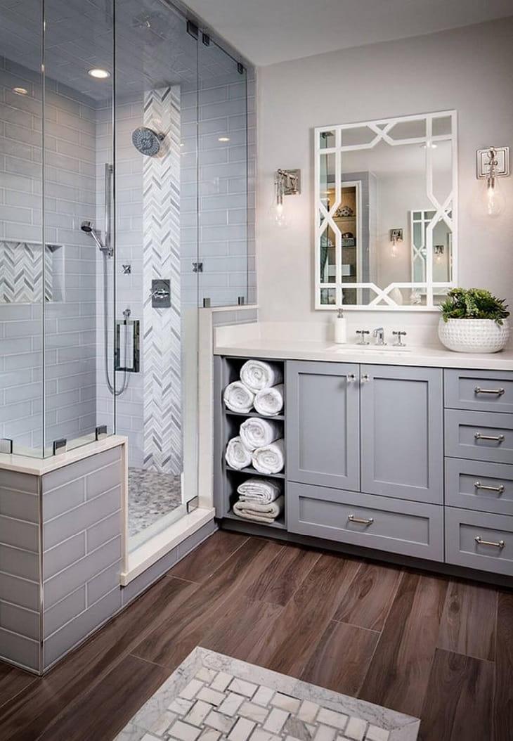 Умение правильно сочетать цвета, позволит создать стильный интерьер ванной комнаты