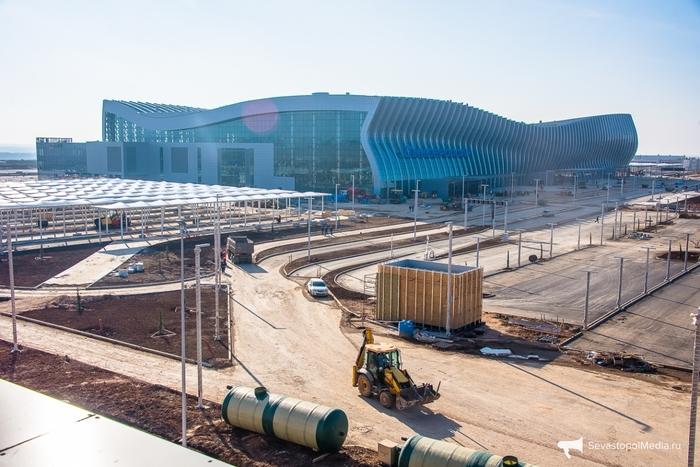 Новый терминал Симферопольского аэропорта