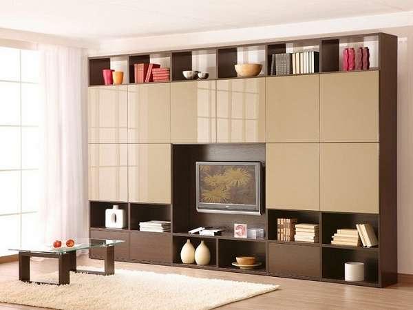 современная стенка в гостиную, фото 9