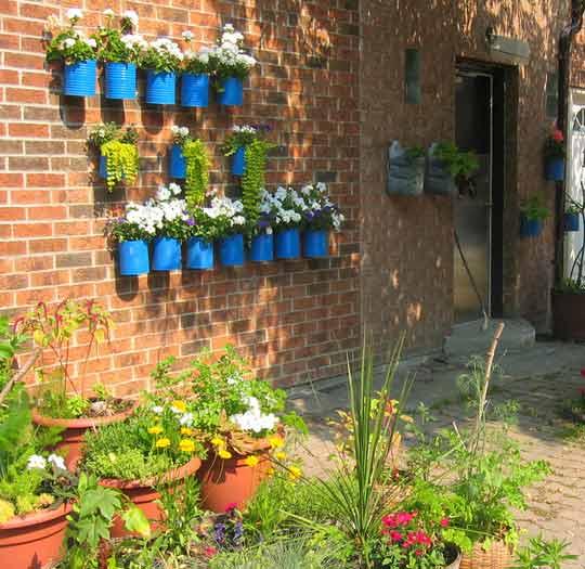 Дизайн двора частного дома: 55 примеров реализации своими