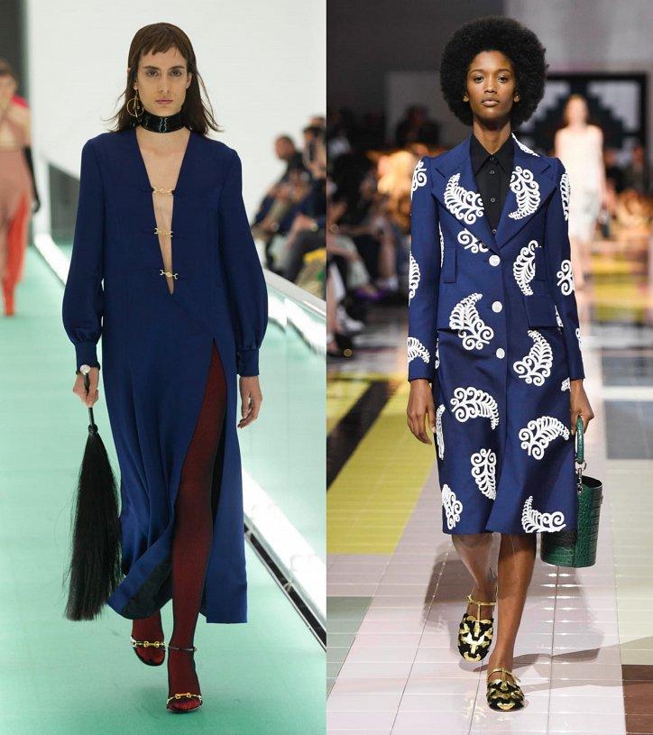 Как носить синий - самый модный цвет 2020 года фото №7