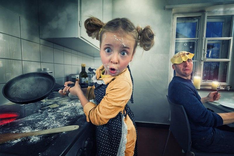 Папа-фотограф создает шикарные фото своих детей. Результат — люкс!