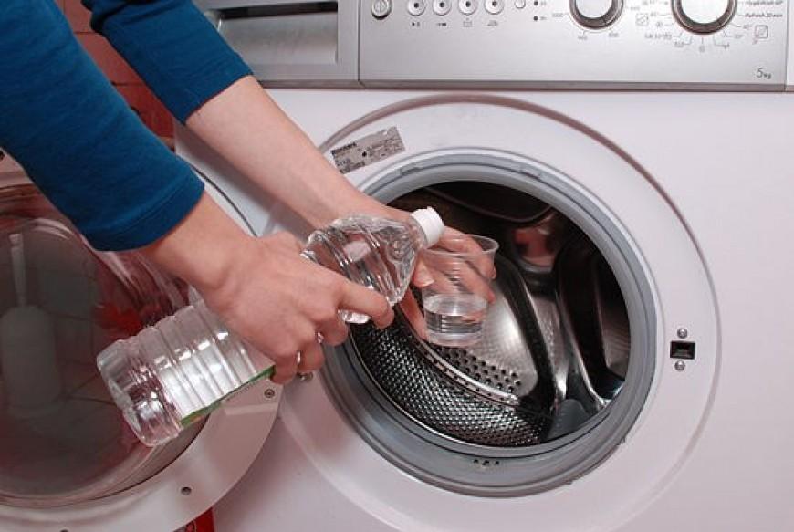 Этот лайфхак спасет вашу стиральную машину! Просто уксус и ничего больше