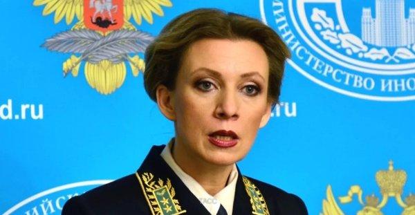 Мария Захарова ответила Великобритании. Жестко и мощно