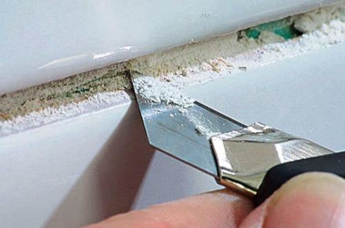 Как удалить старую затирку и не повредить плитку сделай сам,советы