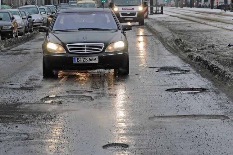 Плохие дороги в Германии фото