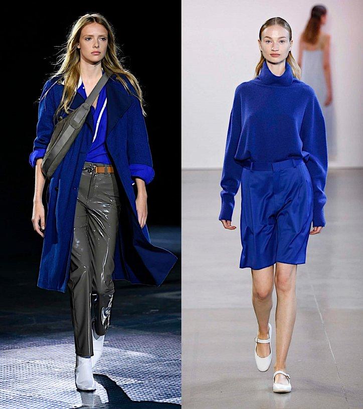 Как носить синий - самый модный цвет 2020 года фото №4