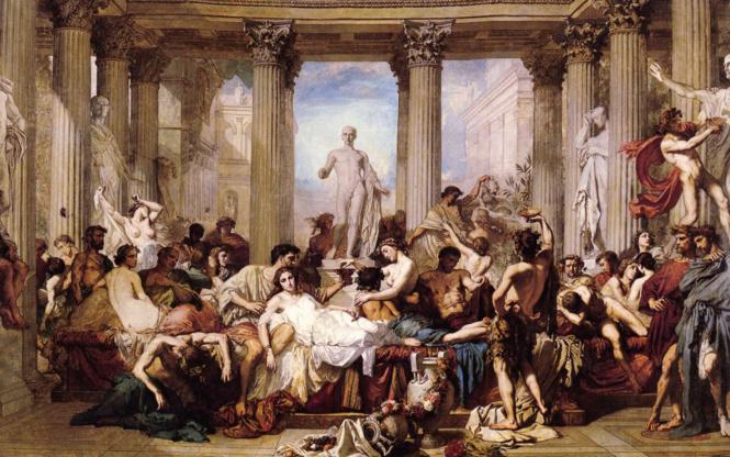Древние изображения на сексуальную тему