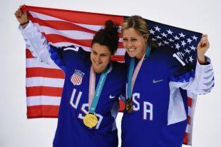 Женская сборная США по хоккею выиграла финал Олимпиады